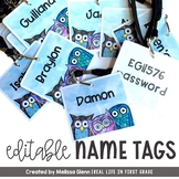 Name Tags EDITABLE