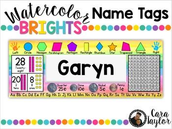 Name Tags ~ Editable!