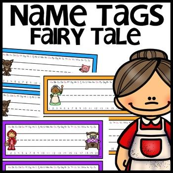 Fairy Tale Name Tags