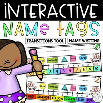Name Tags Interactive Dry-Erase