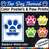 Dog Classroom Decor - Color Posters