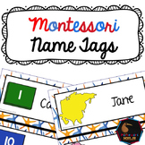 Name Tags - Montessori themed