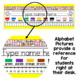 EDITABLE Name Tags / Name Plates - Chevron