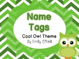Name Tags (Owl Theme)