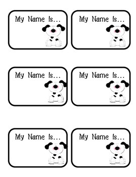 Name Tags - Various Themed
