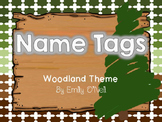 Name Tags (Woodland Theme)