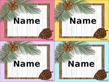 Name Tags (Woodland Theme)