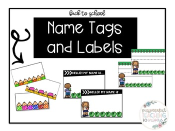 Name Tags and Labels