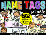 Name Tags {editable version}