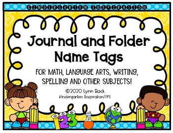 Journal Labels and Folder Labels