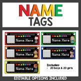 Name Tags for Student Desks