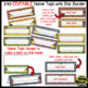 Name Tags for Student desks ~ Super Hero Theme (EDITABLE)