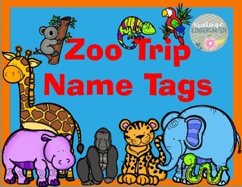 Name Tags for the Zoo