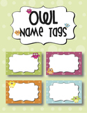 Name Tags/Labels