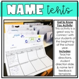 Name Tents