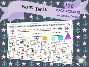 Name Plate Tents for Desks &  Flexible Seating