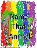 Name That Animal Complete Set