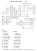 Name That Animal!  crossword puzzle