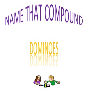 Name That Compound Dominoes