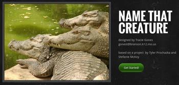 Name That Creature WebQuest