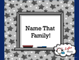 Name That Family: A Musical Instruments of the Orchestra Game