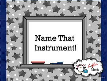 Name That Instrument: A Musical Instruments of the Orchest
