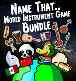 Name That Instrument of The World - BUNDLE