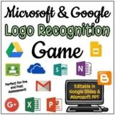 Name That Logo - Google and Microsoft Game - Editable in Google Slides!