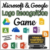 Name That Logo - Google and Microsoft Game - Editable in Google Slides!
