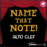 Name That Note! Alto Clef Game - BOOM Cards