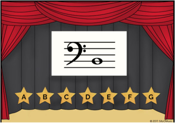 Name That Note? Bass Clef Game - BOOM Cards
