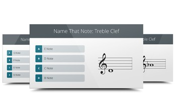 MUSIC: Ultimate Note Challenge - Treble Clef [PowerPoint GAME]