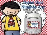 Name That Number Jar Math Workstation and Center Activity