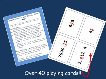 Name That Place! - PLACE VALUE practice game