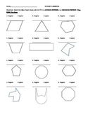 Name That Polygon Worksheet