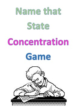 Name That State Concentration Game
