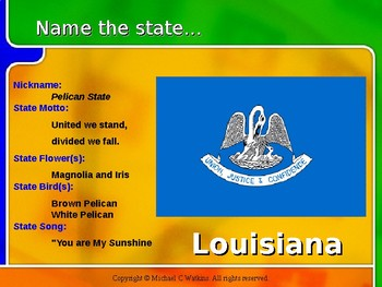 Name That State Flag PowerPoint