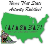 Name That State! Riddles,Activities,Brain Teasers, Critica
