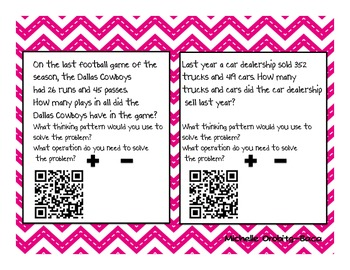 Name That Strategy! Math Problem Thinking Patterns with QR Codes