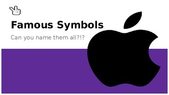 Name That Symbol - brain game (Recognizing Cultural Symbols Around You)