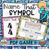 Name That Symbol (PDF Game & Boom Digital Task Cards)