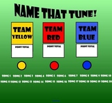 Name That Tune! Smartboard Interactive Game!