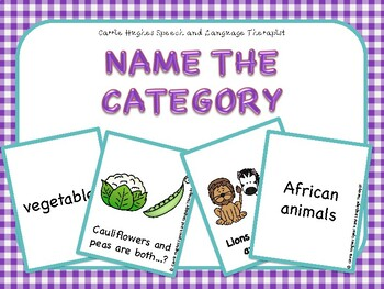 Name The Category