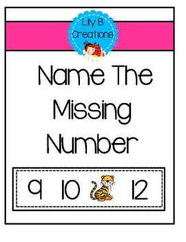 Missing Number - Zoo Math Center