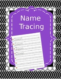 Name Tracing- Editable