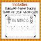 Halloween Name Tracing Practice (Custom Order)