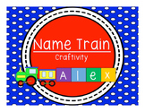 Name Train Craftivity
