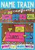 Name Train Paper Craft