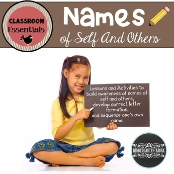 Names: Learning To Sequence and Write Names of Self and Others
