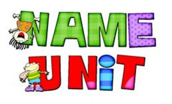 Name Unit for First and Last Names Beginning of the Year